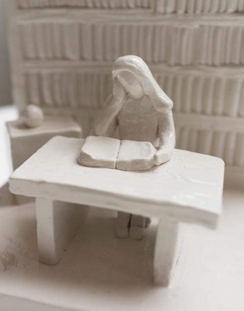 Library Sculpture - Avani Tanya